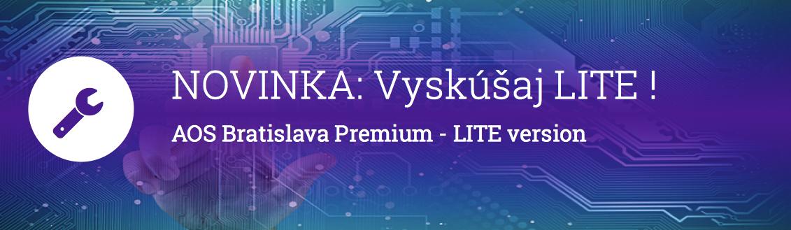 AOS Bratislava Premium LITE