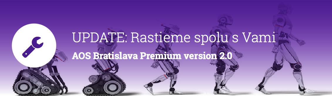UPDATE AOS Bratislava Premium