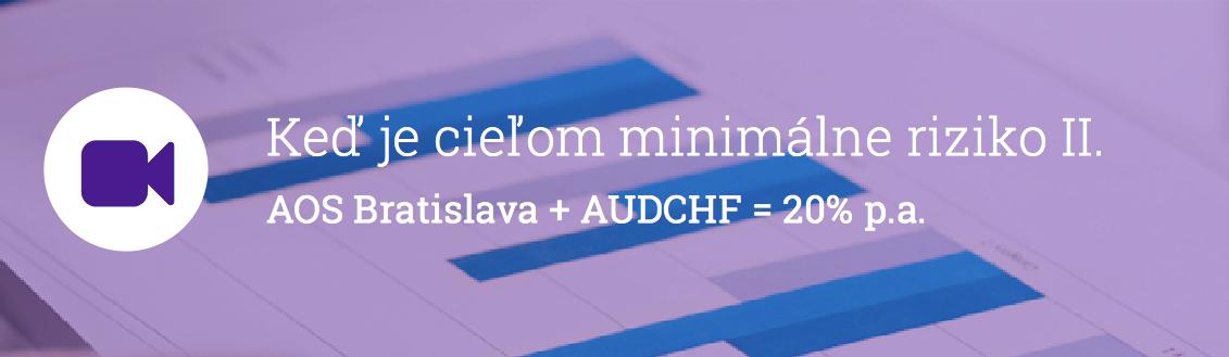 AUDCHF AOS Bratislava
