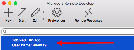 microsoft remote desktop - vps login - aosbratislava.sk - appstore - virtual private server - login - pripojenie - 03