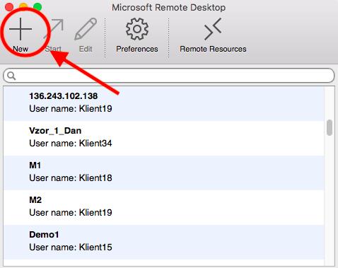 microsoft remote desktop - vps login - aosbratislava.sk - appstore - virtual private server - login - pripojenie